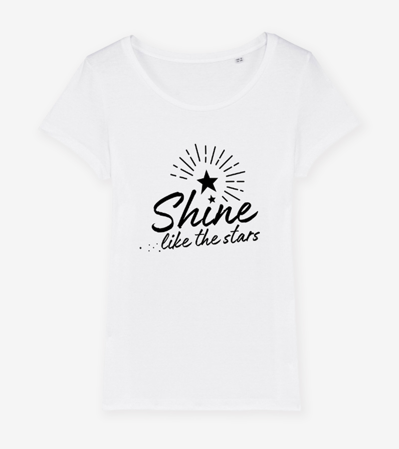 Womens Eco Organic Cotton T-shirt | Organic Sustainable Clothing