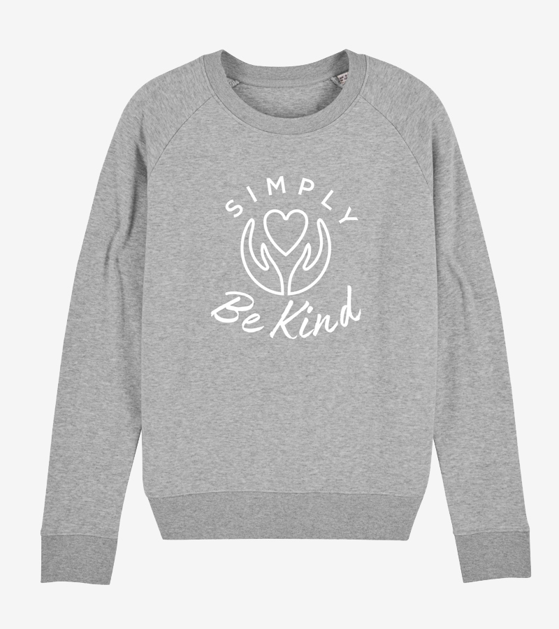 Womens Eco Organic Cotton Sweatshirt | Organic Sustainable Clothing